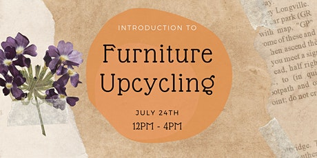 Introduction to Furniture Upcycling tickets