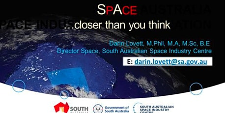 Space - Closer than you think - By Mr Darin Lovett tickets