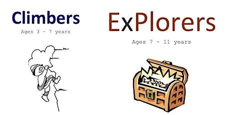 Explorers & Climbers tickets