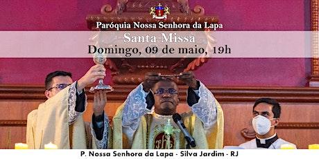 SANTA MISSA - 09/05 - Domingo - 19h ingressos