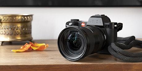 Test Drive Leica SL système au Leica Store Paris Beaumarchais billets