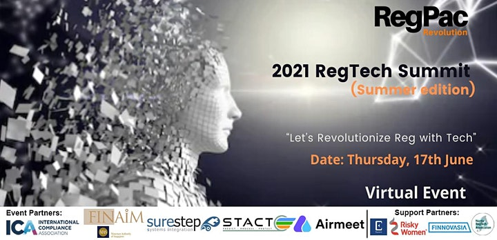2021 RegTech Summit - Transforming Industries with AI image