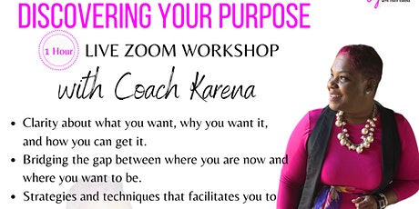Discover Your Purpose Workshop tickets