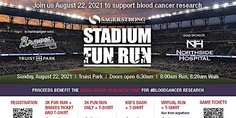 SagerStrong 3K Stadium Fun Run inside Truist Park tickets