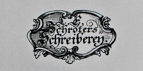 Digitaler Jour Fixe der Freunde Gutenbergs tickets