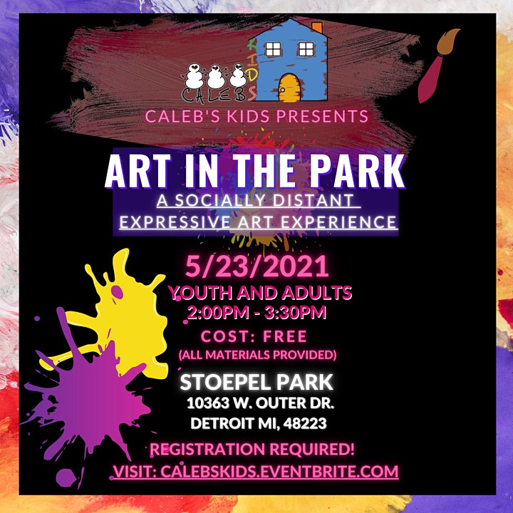 Art in the Park: A Socially Distant Expressive Art Experience image