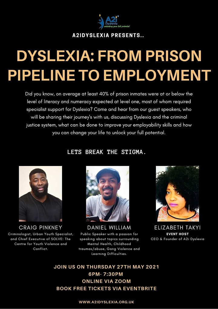 Dyslexia:  From Prison Pipeline to Employment image
