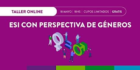 Taller  online  ESI con Perspectiva de Géneros entradas