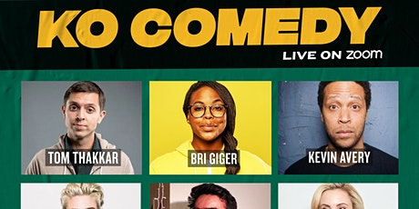 KO Comedy Live on Zoom: Saturday, May 8th, 2021 tickets