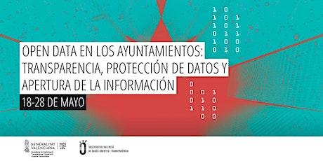 Open Data en los ayuntamientos: transparencia y apertura de datos. entradas