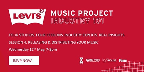 Levi's Industry 101 Masterclass: Releasing and Distributing Your Music tickets