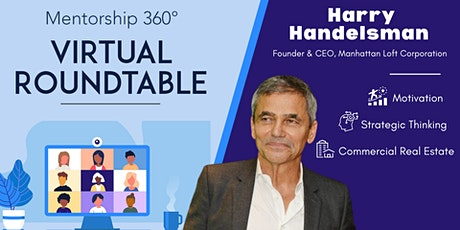 Virtual Roundtable: Harry Handelsman Tickets