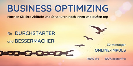 "Online-Impuls ""Business Optimizing"" tickets"