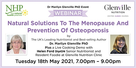Natural Solutions To The Menopause And Prevention Of Osteoporosis biglietti