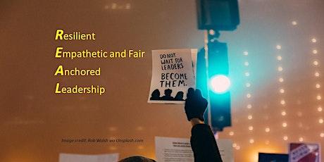 REAL Leadership - 4 week online leadership development (7 CPD points) tickets