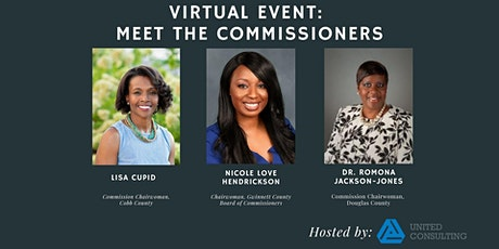 Meet the Commissioners - Virtual Event with Gwinnett, Cobb & Douglas County tickets