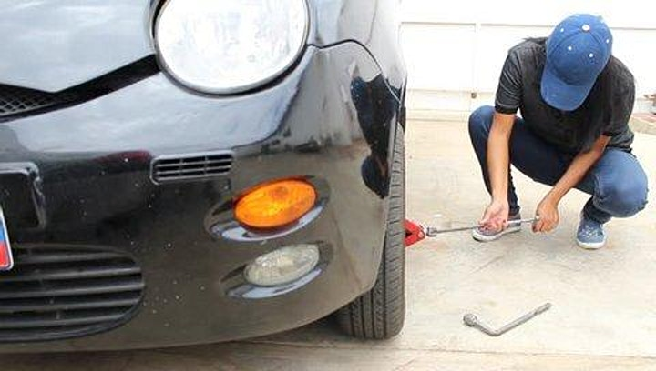 How To Change A Tire & What To Do In An Emergency Situation. image