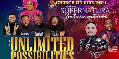 SUPERNATURAL INTERVENTION CONVENTION: Unlimited Possibilities tickets
