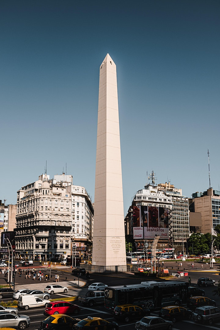 Virtual Guided Tour Buenos Aires Argentina with Tango Lesson image