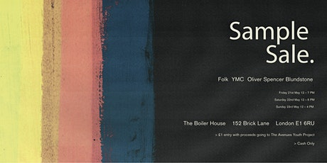 Sample Sale - YMC, Folk, Oliver Spencer & Blundstone - Up to 70% Off. tickets