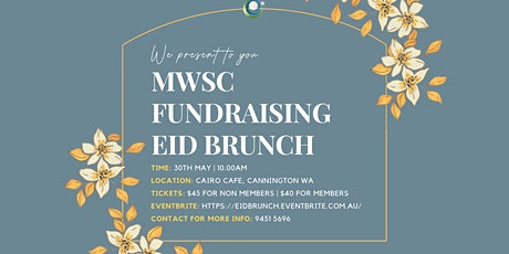Eid Fundraising Brunch tickets
