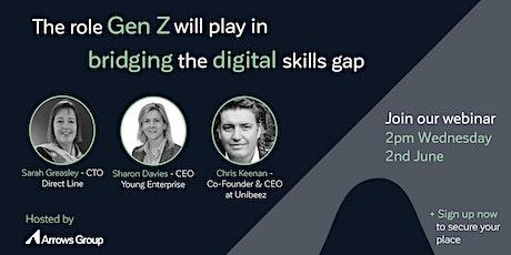 STEM webinar - The role Gen Z will play in bridging  the digital skills gap tickets