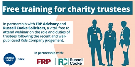 Examining the Roles and Duties of Charity Trustees tickets