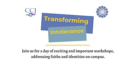 Transforming Intolerance Conference tickets