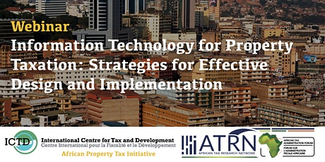 IT for property taxation: Strategies for effective design & implementation tickets