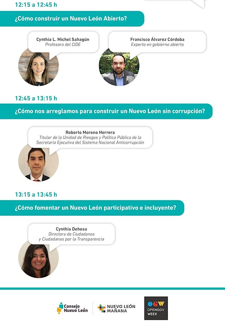 Imagen de Foros Nuevo León Mañana: Gobierno Eficaz y Transparencia