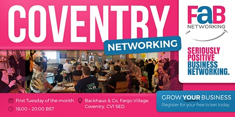 FindaBiz Networking Coventry tickets