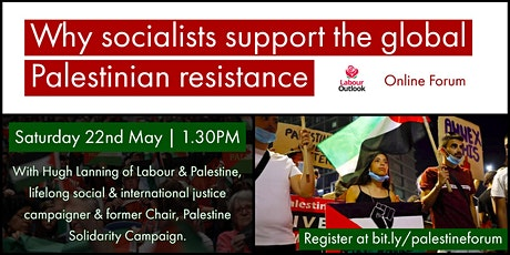 Why socialists support the global Palestinian resistance tickets