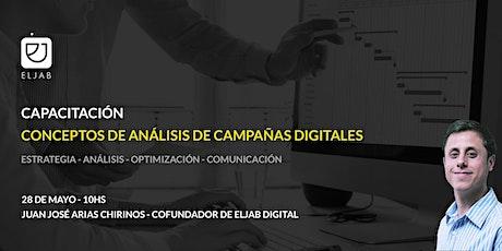 Conceptos de Análisis de Campañas Digitales entradas