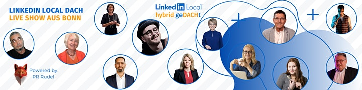 LinkedIn Local  - DACH Business Hybrid-Konferenz: Bild