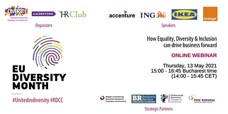 How equality, diversity & inclusion can drive business forward tickets