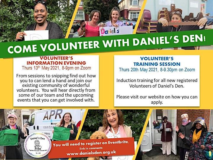 Volunteers' Training Session image