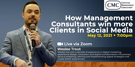 CMC: How Management Consultants Win More Clients in Social Media tickets