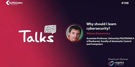 Talks #149 Let's talk about 'Why should I learn cybersecurity?' tickets