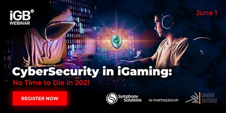 CyberSecurity in iGaming: Secure by Design tickets