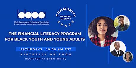 BBPA's Community Space Financial Literacy Program tickets