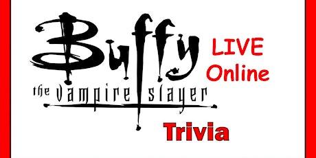 Buffy the Vampire Slayer Trivia Fundraiser (live host) via Zoom (EB) tickets