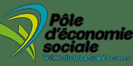 AGA 2021 Pôle d'économie sociale Vallée-du-Haut-Saint-Laurent billets