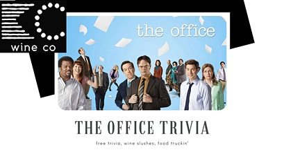 Free The Office Trivia at KC Wine Co Winery & Vineyard in Olathe tickets