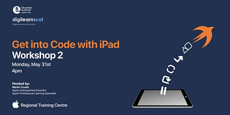 Get into Code with iPad - Workshop 2 tickets