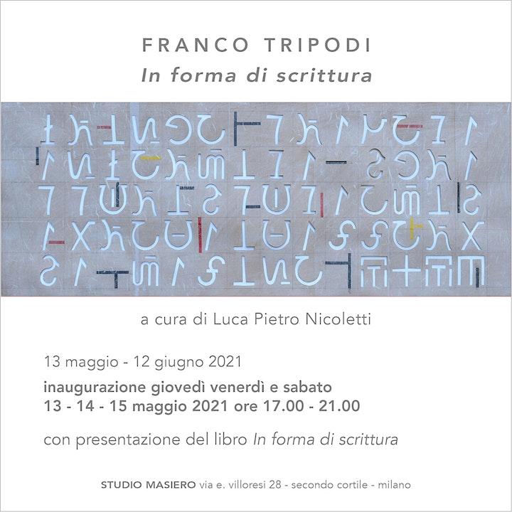 Immagine Franco Tripodi - In forma di scrittura
