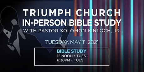 Triumph Church Bible Study tickets