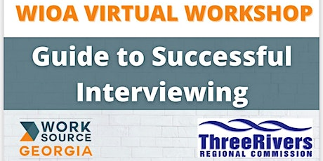 Guide to Successful Interviewing - Virtual Workshop tickets