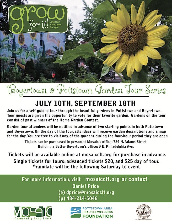 Pottstown & Boyertown Fall Garden Tour image