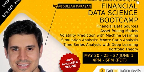 Financial Data Science Bootcamp tickets