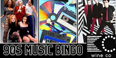 FREE 90's Music Bingo at KC Wine Co Vineyard & Winery in Olathe, KS tickets
